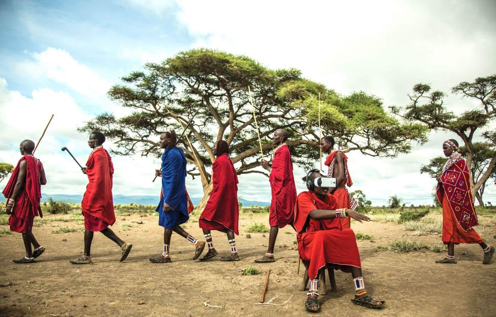 Pendant le tournage de «Nomads: Maasai», une immersion dans les coutumes et les traditions d'une communauté maasai du Kenya, le studio Félix&Paul a passé une journée à faire vivre aux 150 villageois l'expérience de «Nomads: Herders», filmé dans une yourte d'éleveurs yak nomades en Mongolie.