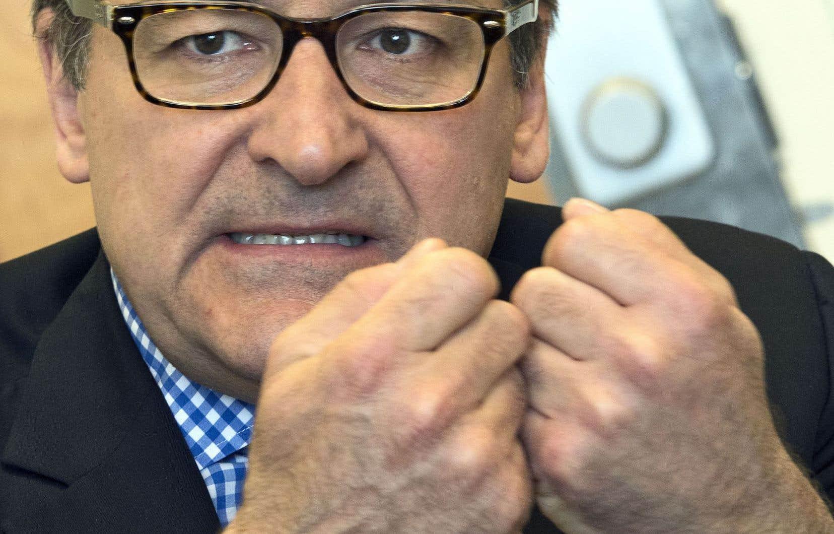 Martin Cauchon, le grand patron du Groupe Capitales Médias