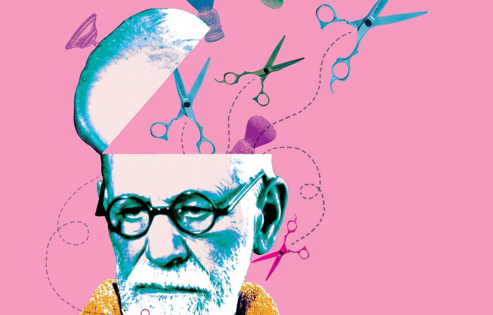 Freud, qui avait pourtant écrit des charrettes de tomes sur la question, ne donnait pas sa place côté compulsion. Levé à 7h, il convoquait son barbier tous les matins pour lui faire tailler au millimètre les poils folets de son bouc, avant de s'enfermer dans son bureau et d'allonger ses patients sur le divan.