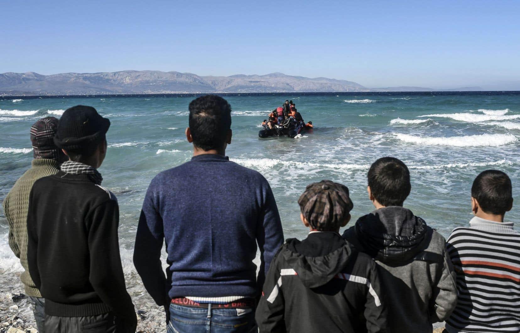 Un départ de la Turquie vers la Grèce, sans aucune assurance de se rendre à destination. Ils ont été nombreux à tenter la chance en recourant aux «services» de passeurs.