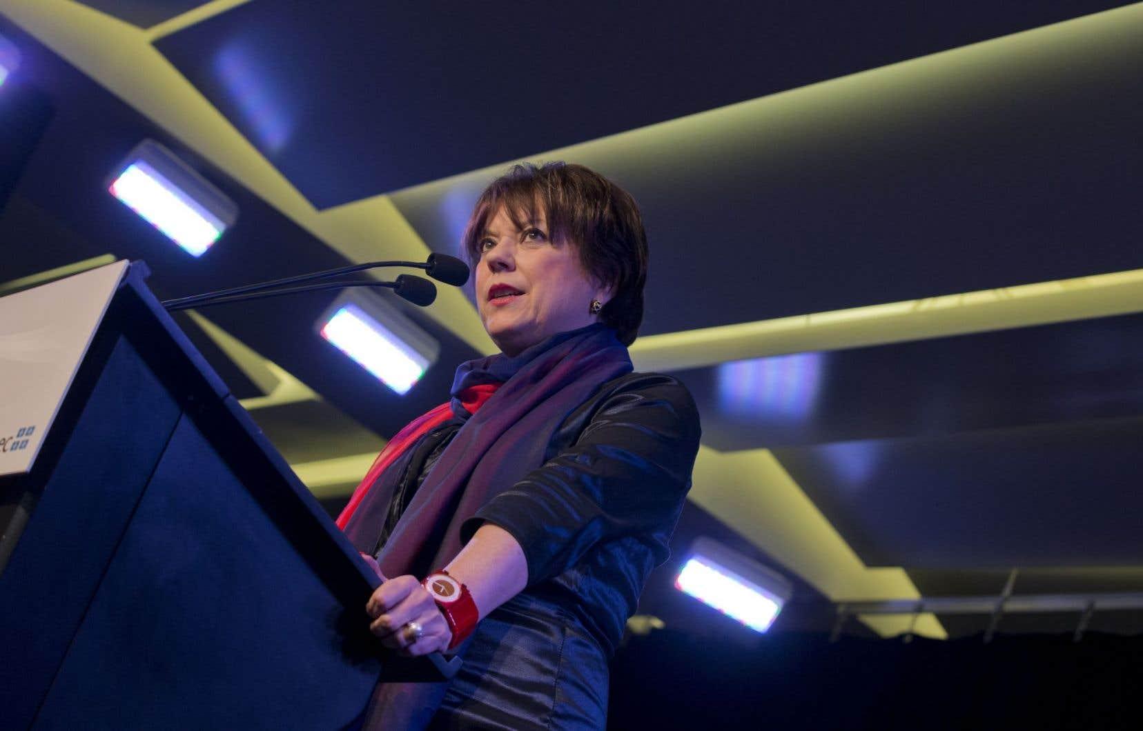 La ministre Hélène David a affirmé son intention d'accorder «une attention particulière pour éduquer les élèves aux bienfaits de la culture».