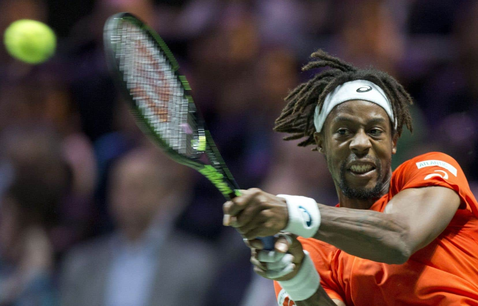 Gaël Monfils a exprimé ses doutes au sujet du long voyage vers la Guadeloupe en pleine saison pour disputer la Coupe Davis.