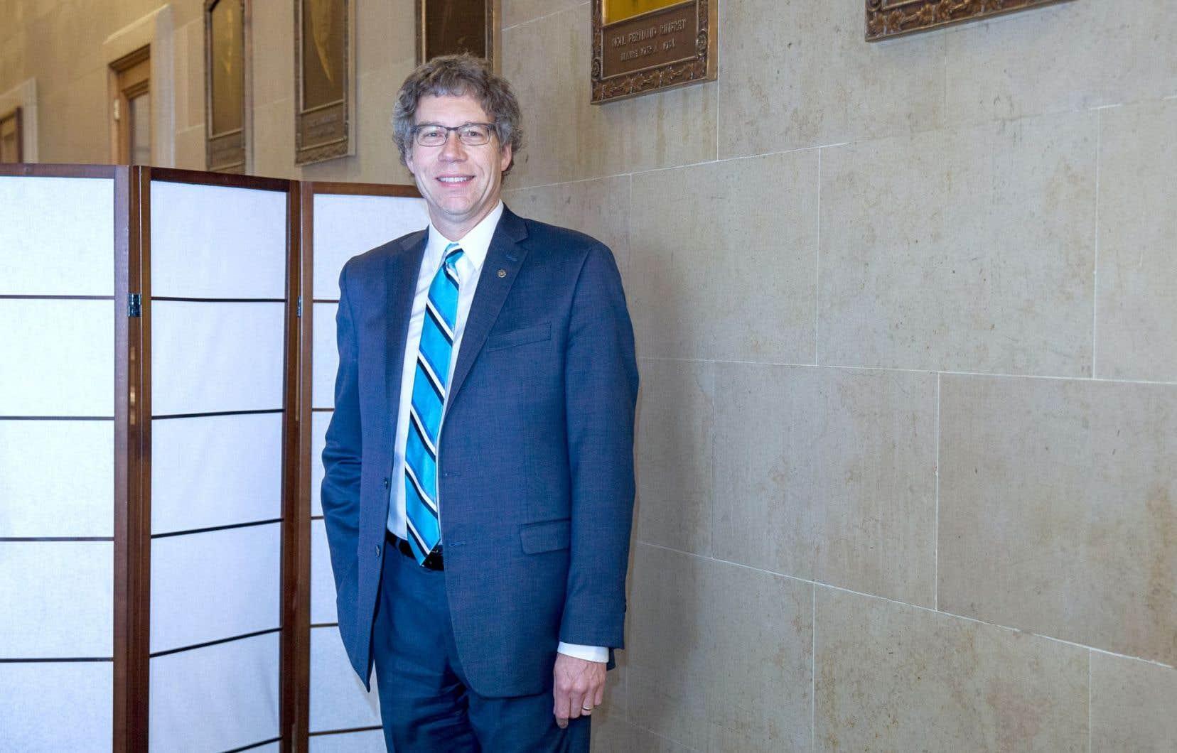 Le maire de Côte-des-Neiges–Notre-Dame-de-Grâce, Russell Copeman