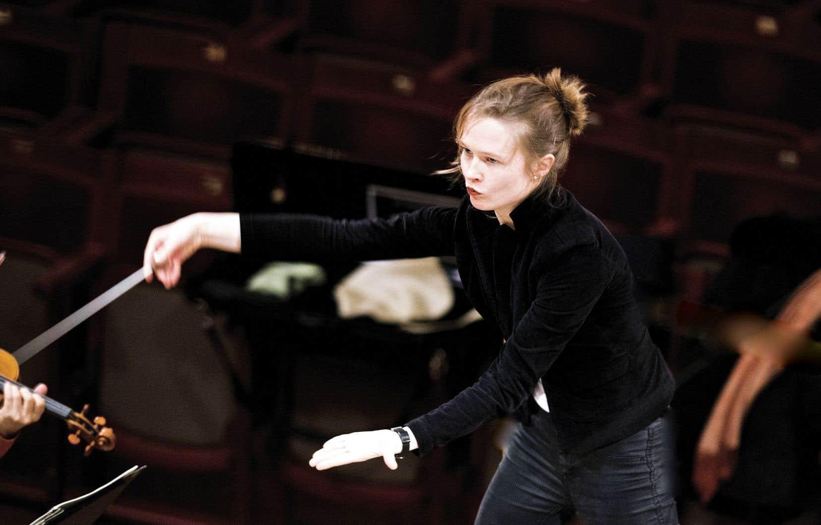 Mirga Gražinyte-Tyla vient d'être nommée chef de l'Orchestre symphonique de Birmingham.