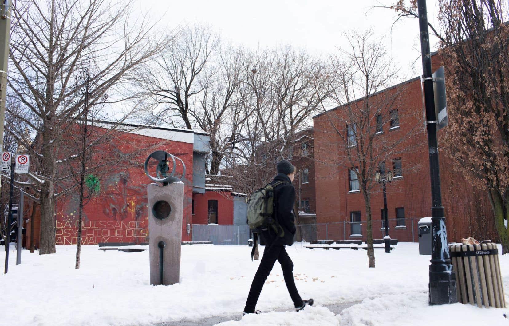 Le parc Claude-Jutra à Montréal