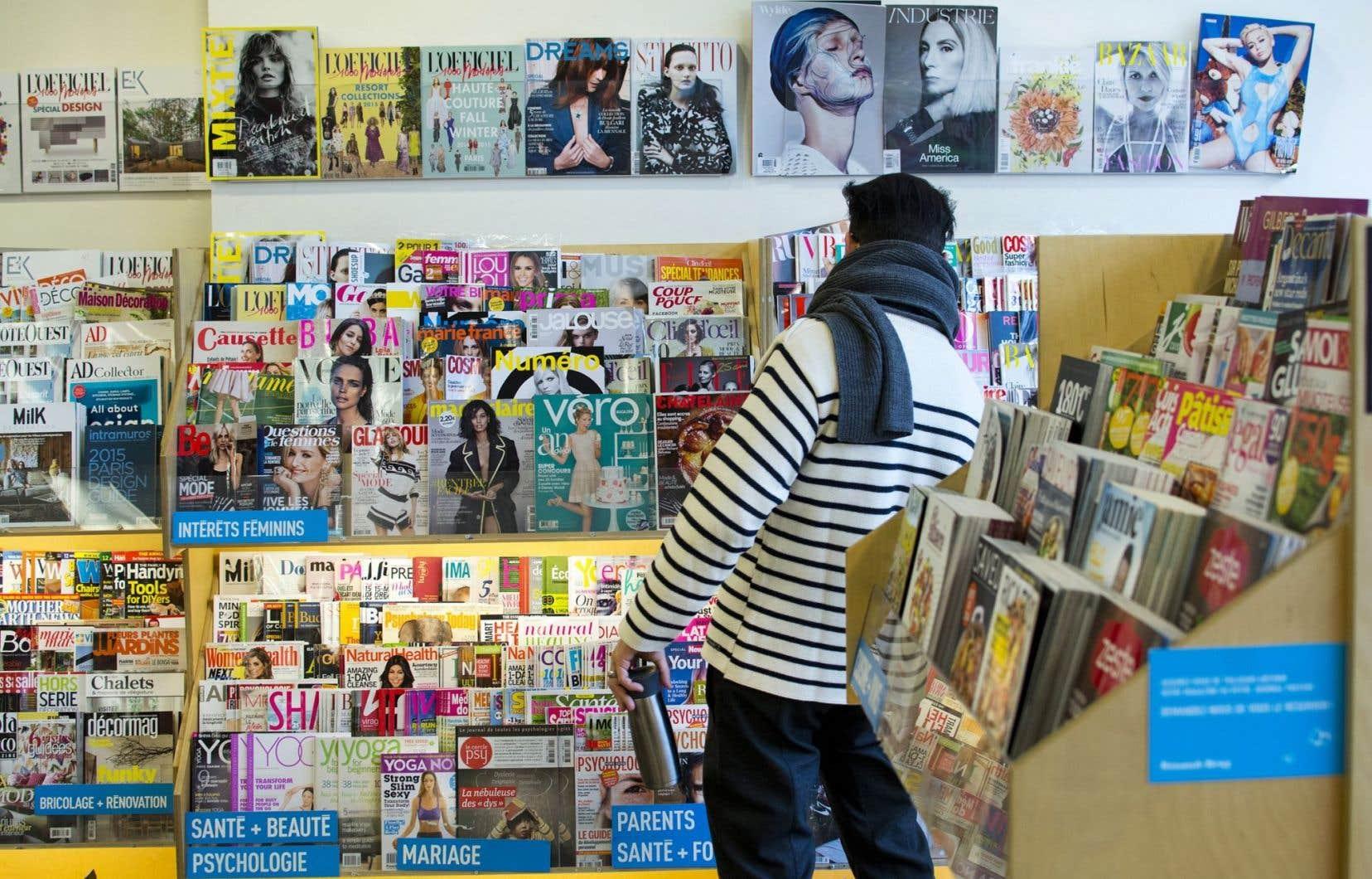 LMPI gère la distribution de plus de 3000 titres de magazines.