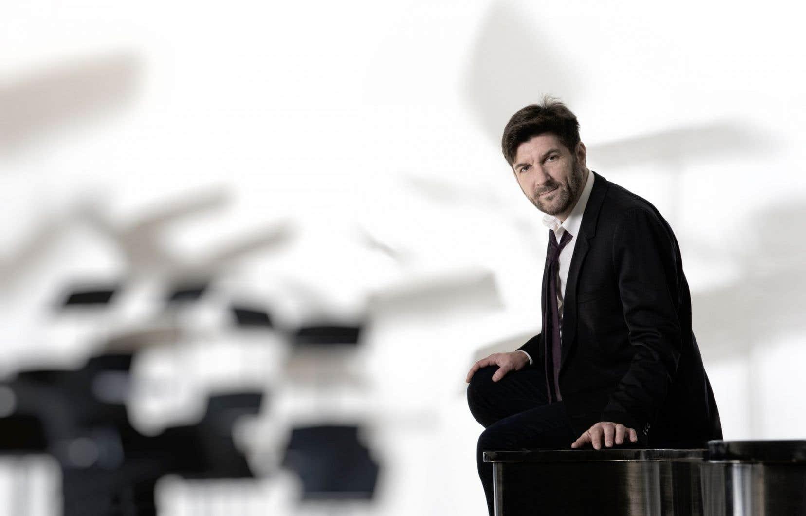 Le claveciniste Luc Beauséjour s'est tourné vers le piano sur son dernier disque.