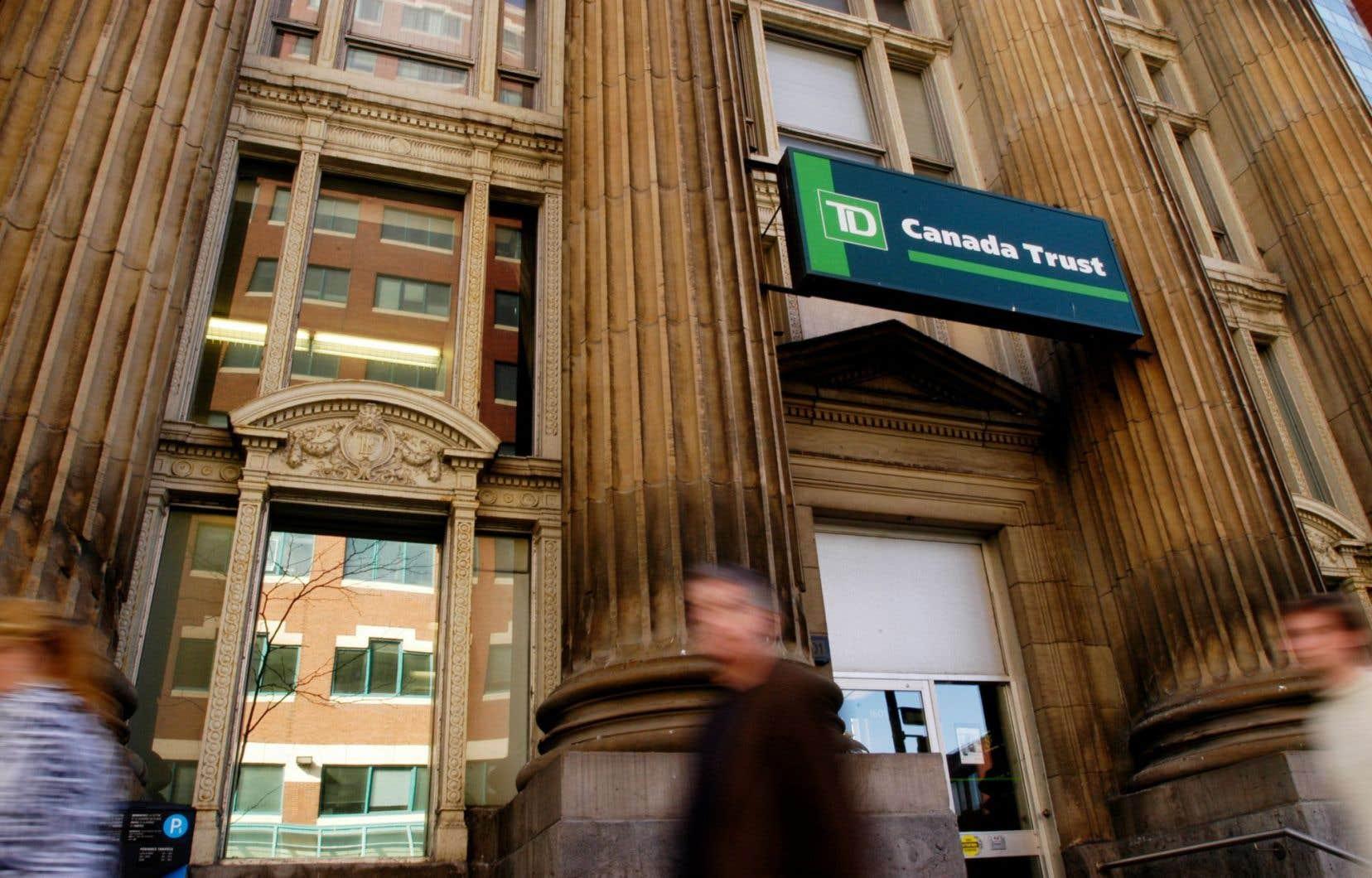 La Banque TD a affiché un bénéfice net de 2,22 milliards, en hausse d'environ 8 % par rapport à celui de 2,06 milliards réalisé à la même période l'année précédente.