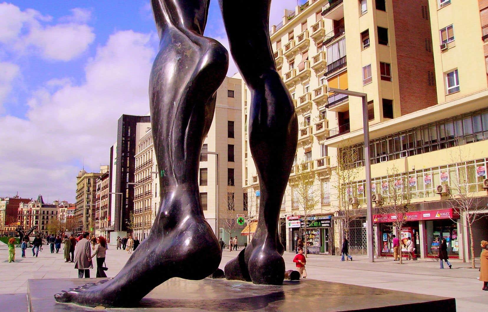 La Plaza de Dali à Madrid