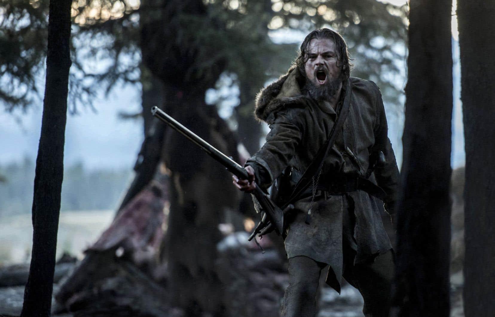 Il est regrettable que l'unique représentation que «The Revenant», dans lequel Leonardo DiCaprio (photo) tient le premier rôle, fasse des «coureurs des bois» francophones soit celle de voleurs.