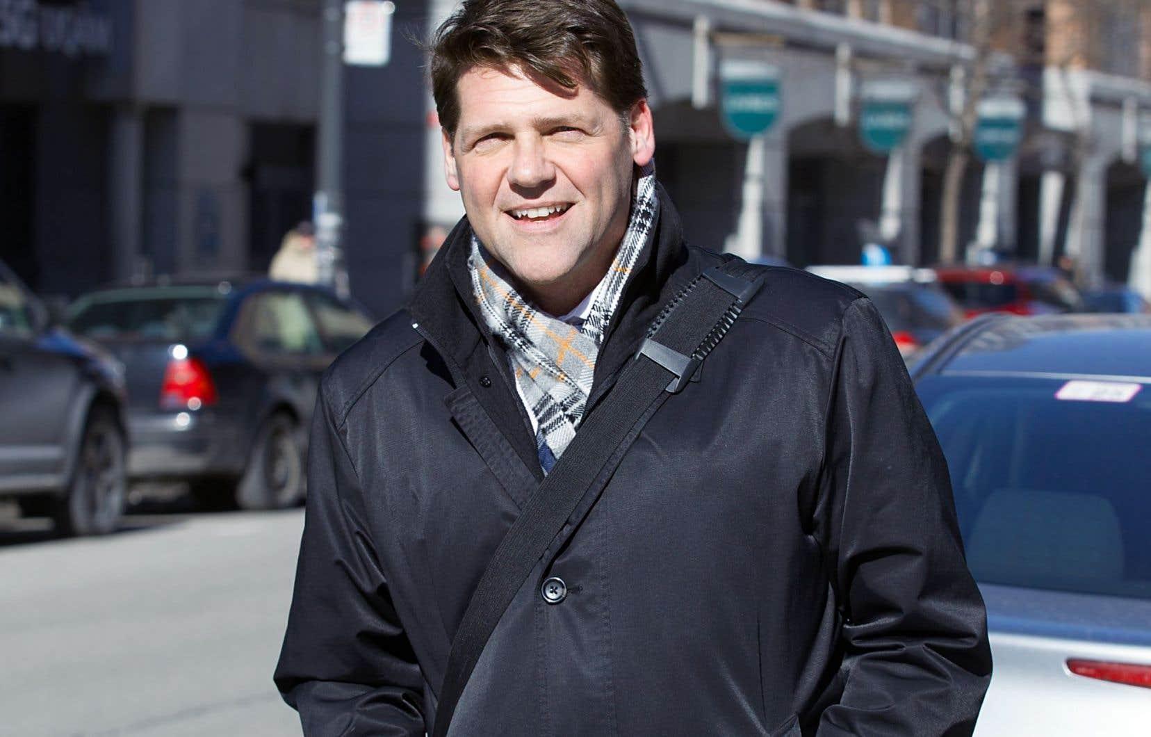 Lon LaClaire, le directeur des transports de Vancouver