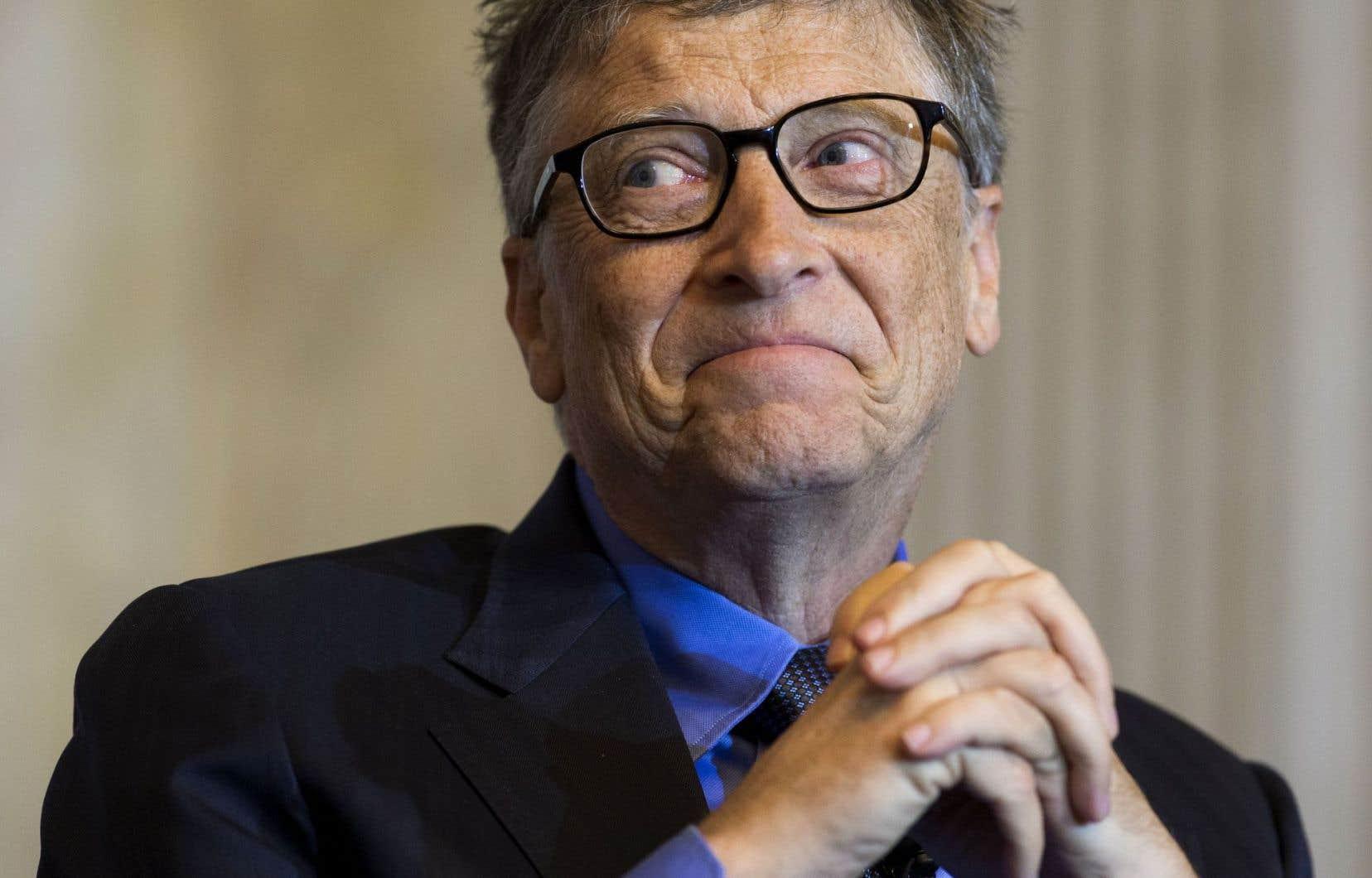 Bill Gates reste au sommet des personnes les plus riches du monde avec une fortune évaluée à 75 milliards, 4,2 milliards de moins que l'an dernier.