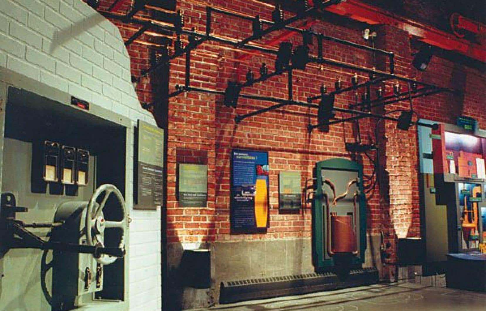 La station de pompage d'Youville