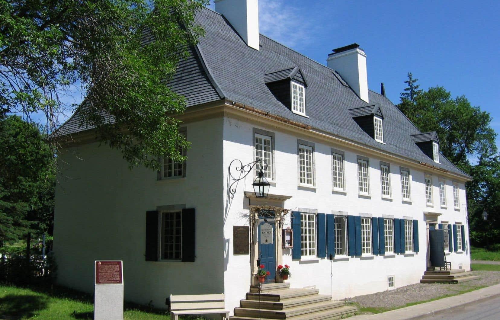 Le manoir Mauvide-Genest, à l'île d'Orléans