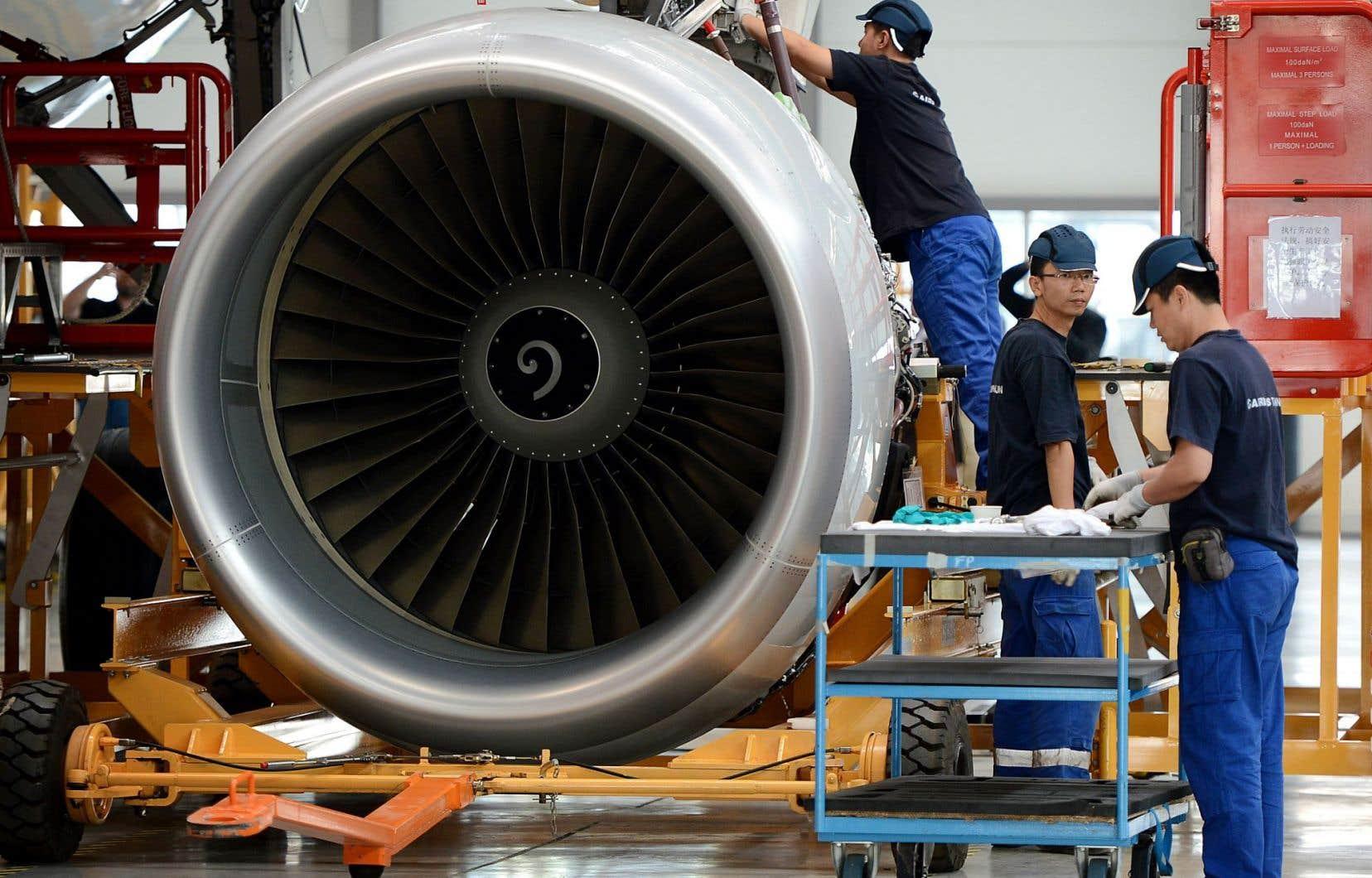 Objectif affiché dans le plan «Chine 2025», établi en 2015: constituer une filière aéronautique complète, à même de rivaliser avec les meilleures industries mondiales.