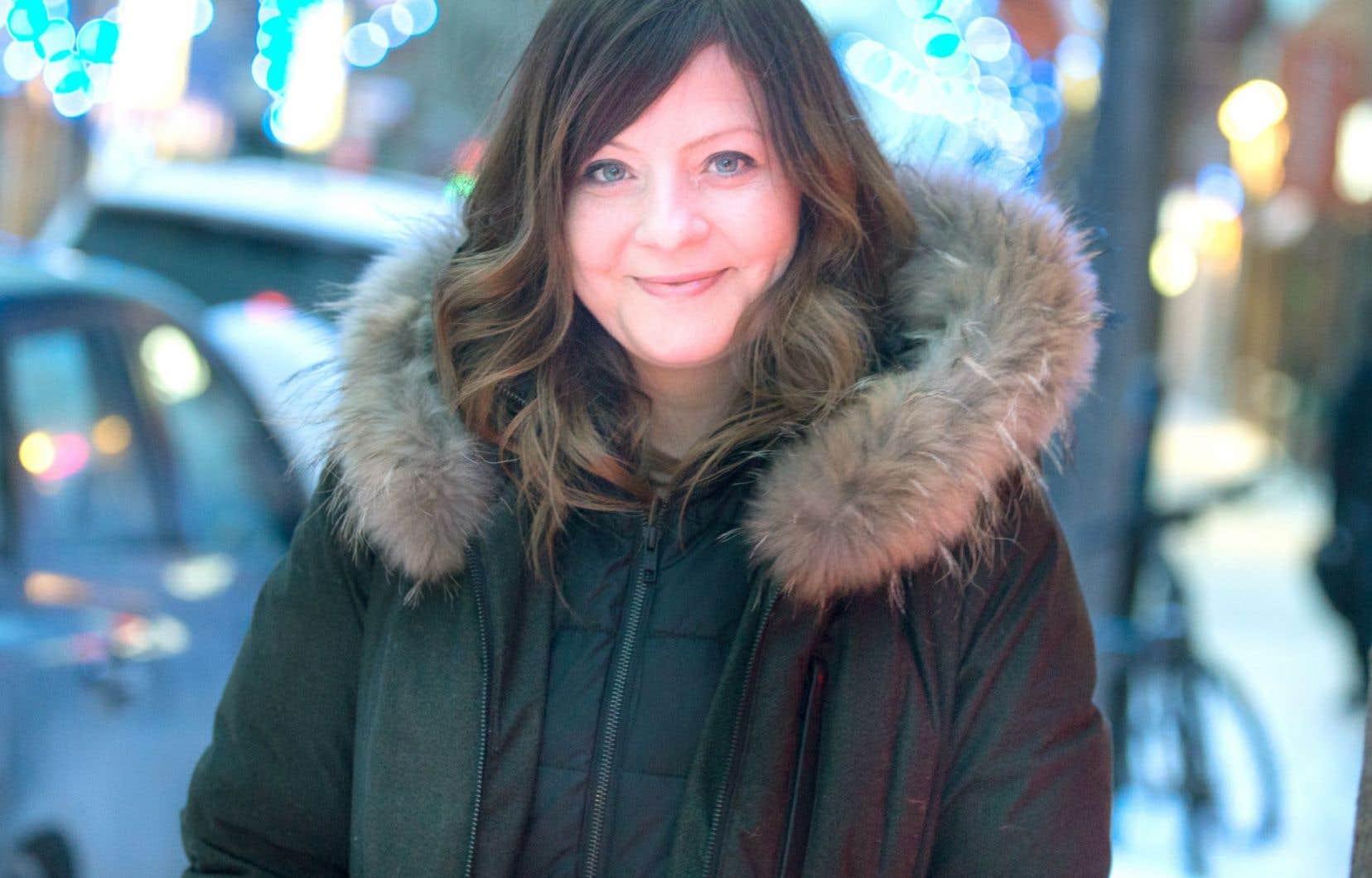 Marie-Annick Lépine avoue avoir travaillé très fort sur les textes de son album qui s'adresse aux enfants, mais «pas seulement».