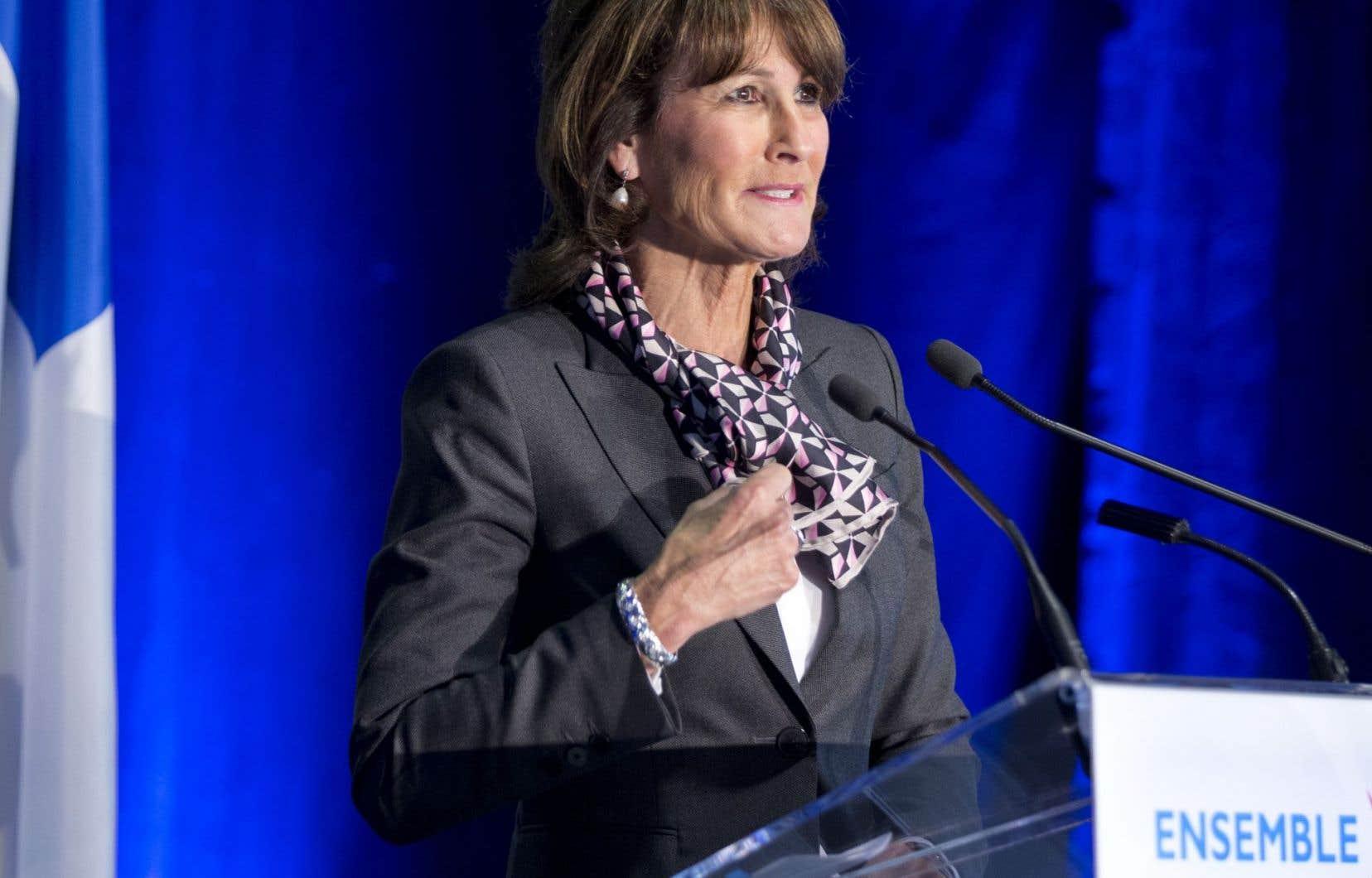 La ministre de l'Immigration, de la Diversité et de l'Inclusion, Kathleen Weil, a présenté lundi à Montréal la nouvelle politique d'immigration, à laquelle une somme de 42,5millions sur cinq ans est rattachée.