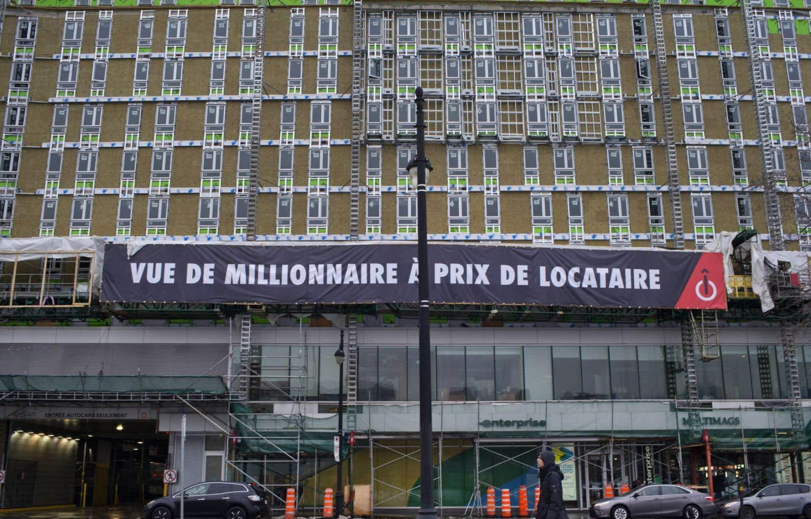 Au total, le projet «Îlot apparts» compte 374 logements.