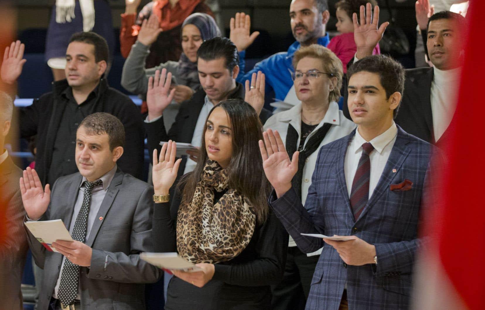 En 2014, le Québec a sélectionné près de 35 000 de ses 50 000 immigrants.