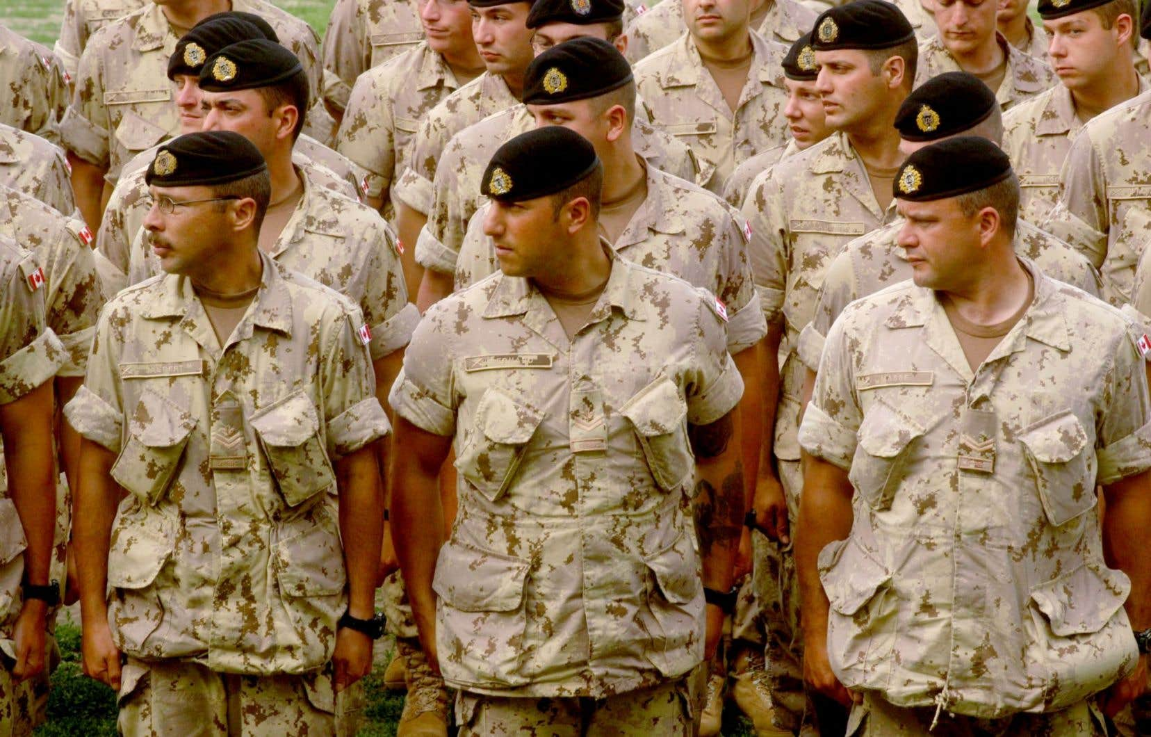 Le gouvernement Trudeau a annoncé le mois dernier qu'il triplerait le nombre de soldats qui entraîneront les forces de sécurité en Irak.
