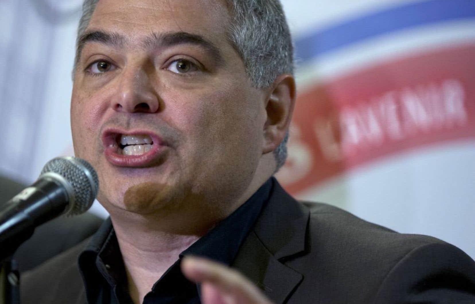 Sylvain Mallette, président de la FAE