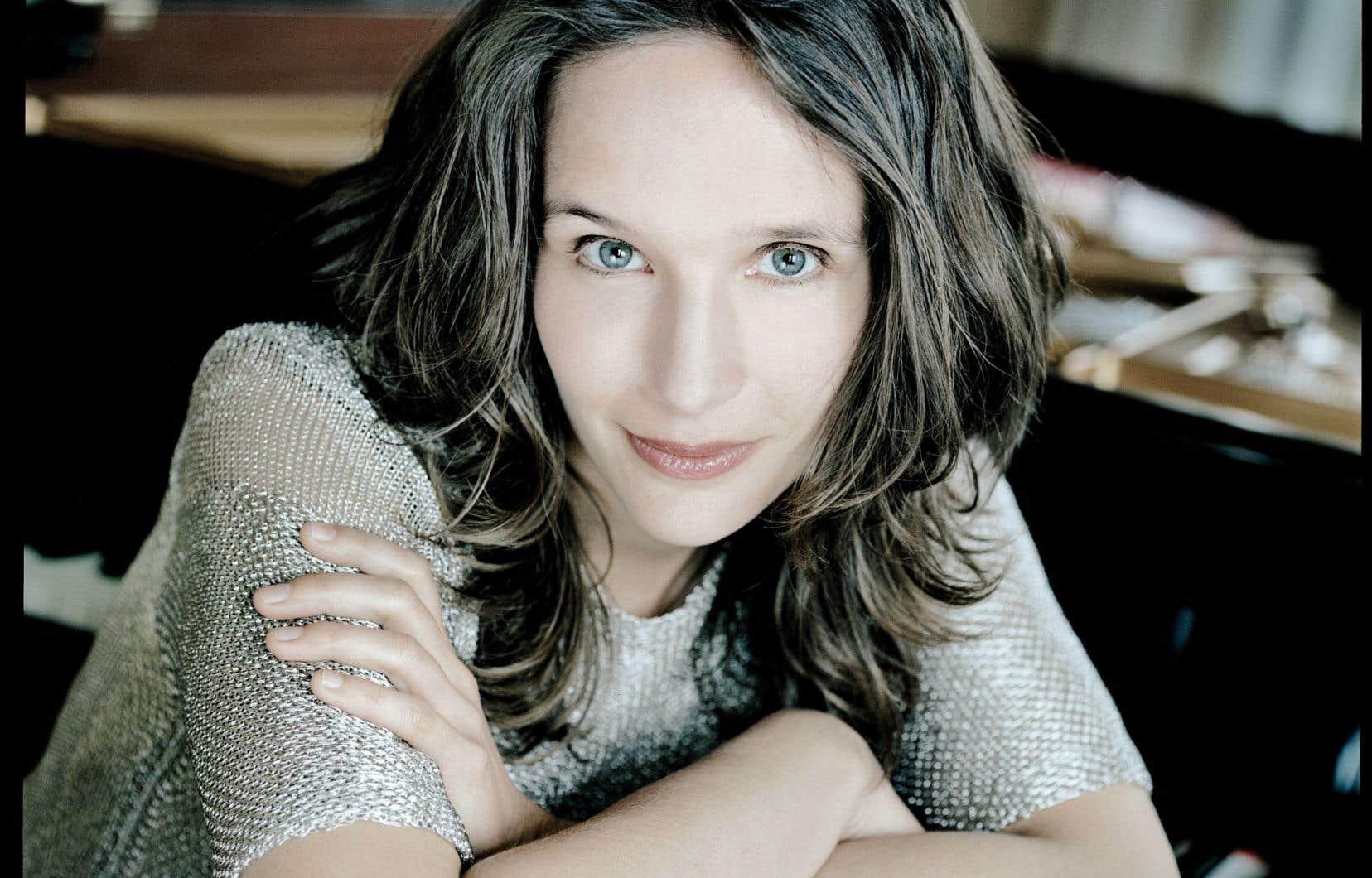 La pianiste Hélène Grimaud sera sans conteste la vedette du concert du 6octobre, le premier de la saison.