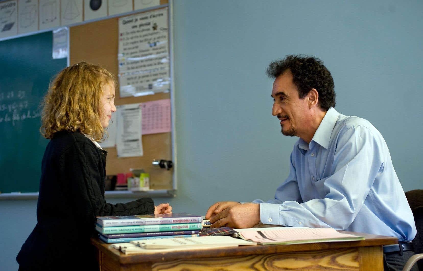 « Monsieur Lazhar», dont le personnage central est un immigrant algérien, est l'un des films québécois des dernières années où la diversité culturelle est plus présente.