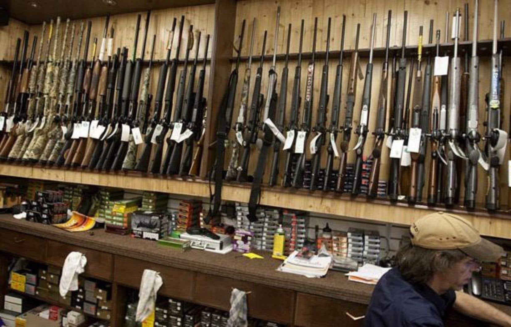 Un regroupement d'organismes est venu signifier aux parlementaires, mardi, son appui au projet de registre des armes à feu.