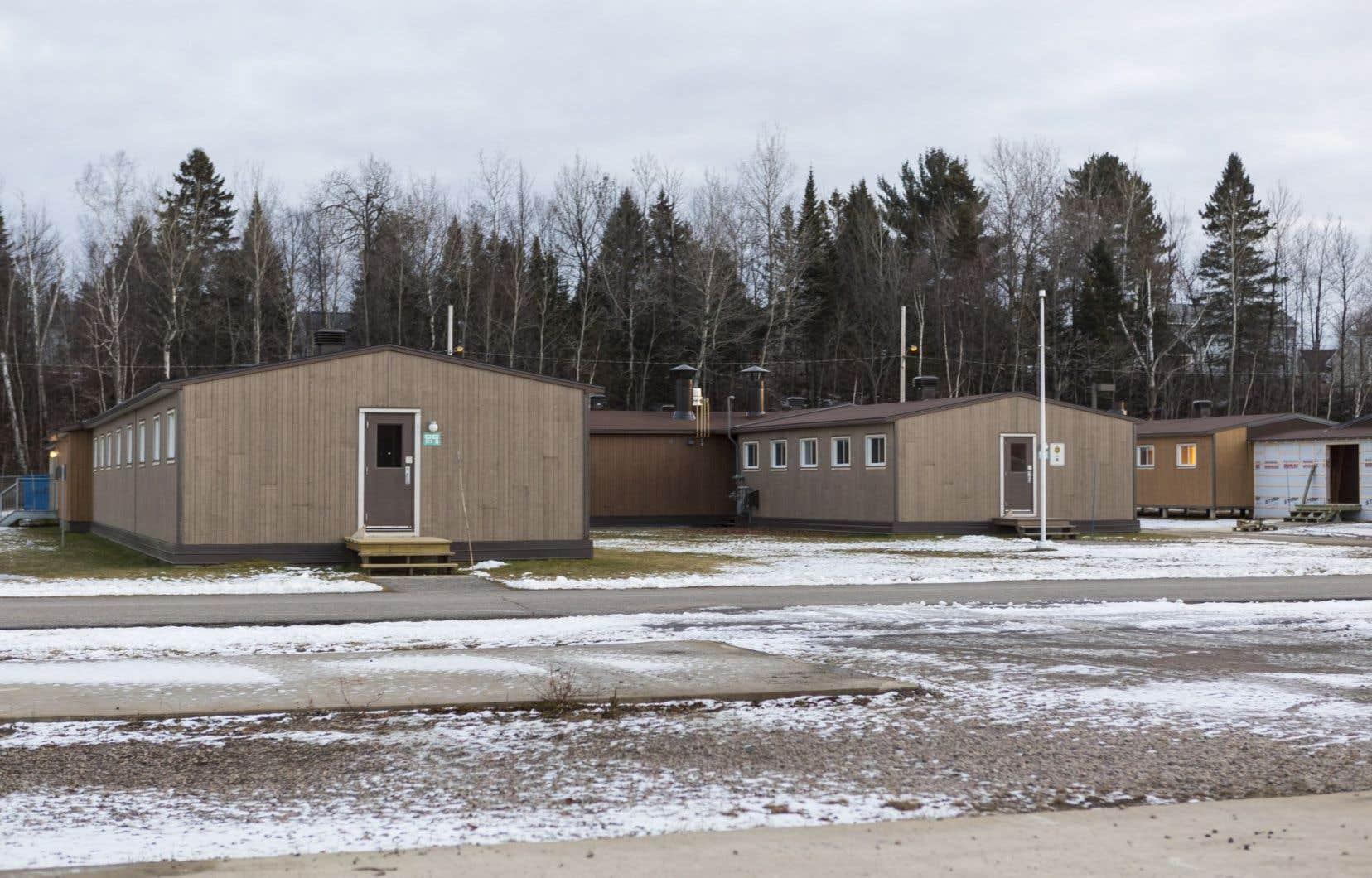 Des six bases rénovées, c'est Valcartier qui a bénéficié de la plus importante injection d'argent.
