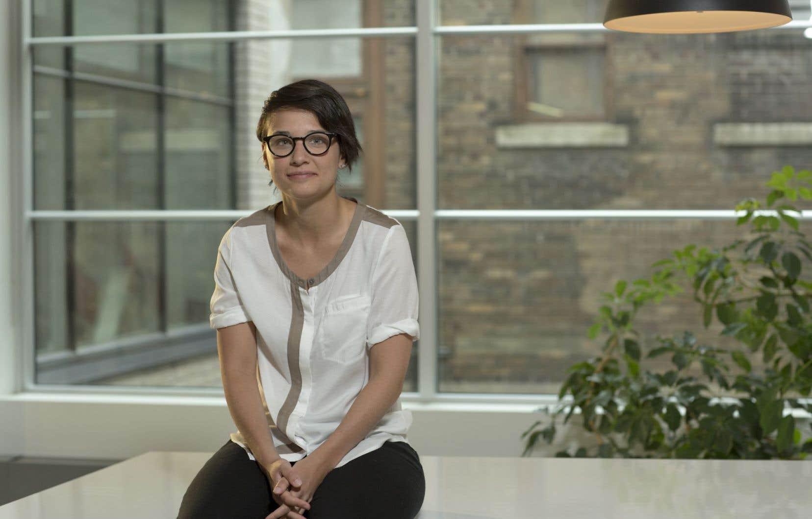 «Le but, c'est de parler de mon expérience, de mon passage du court au long métrage», affirme Chloé Robichaud au sujet de sa classe de maître.