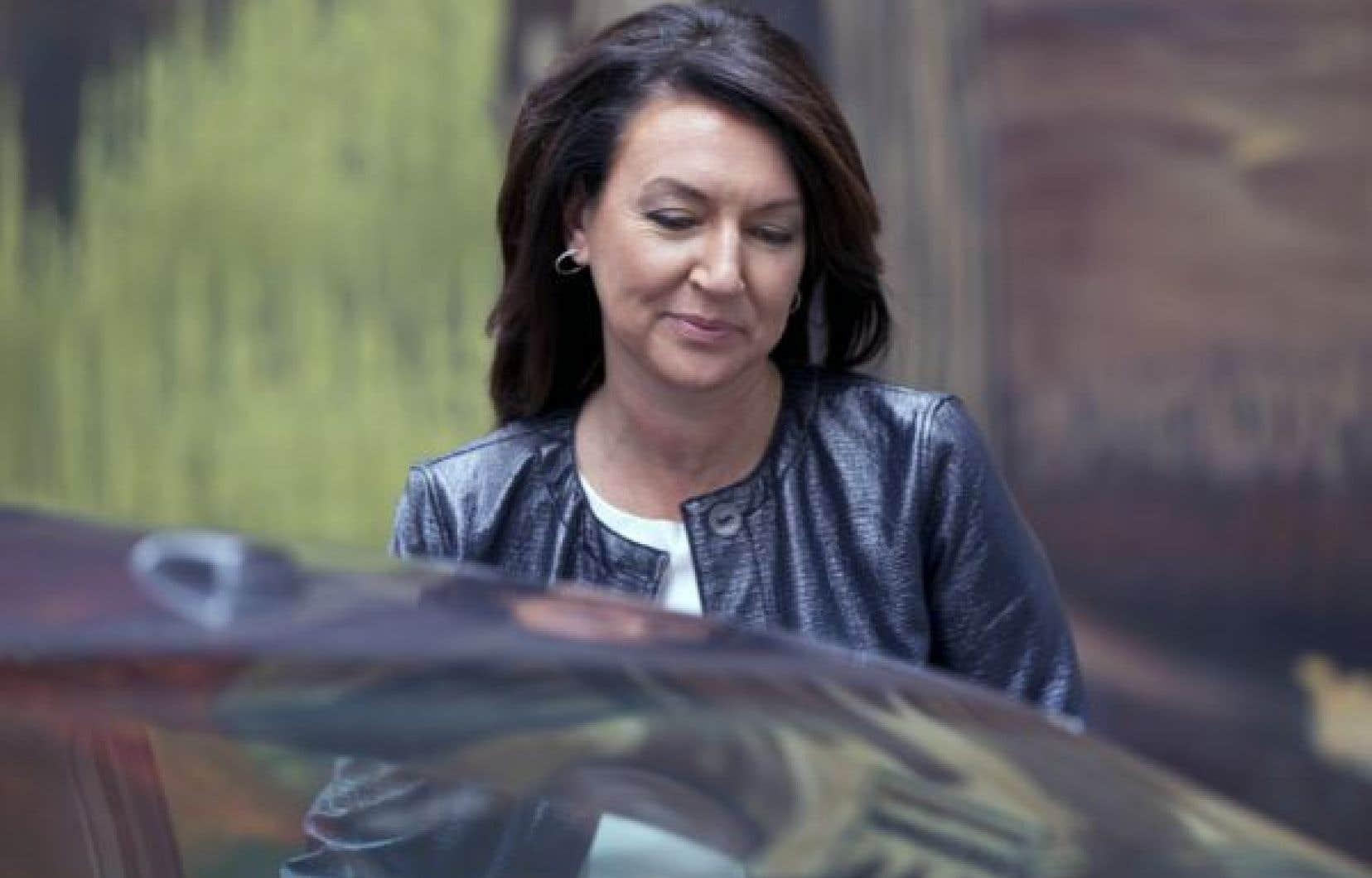 L'ex-vice-première ministre, Nathalie Normandeau, a été arrêtée pour corruption.