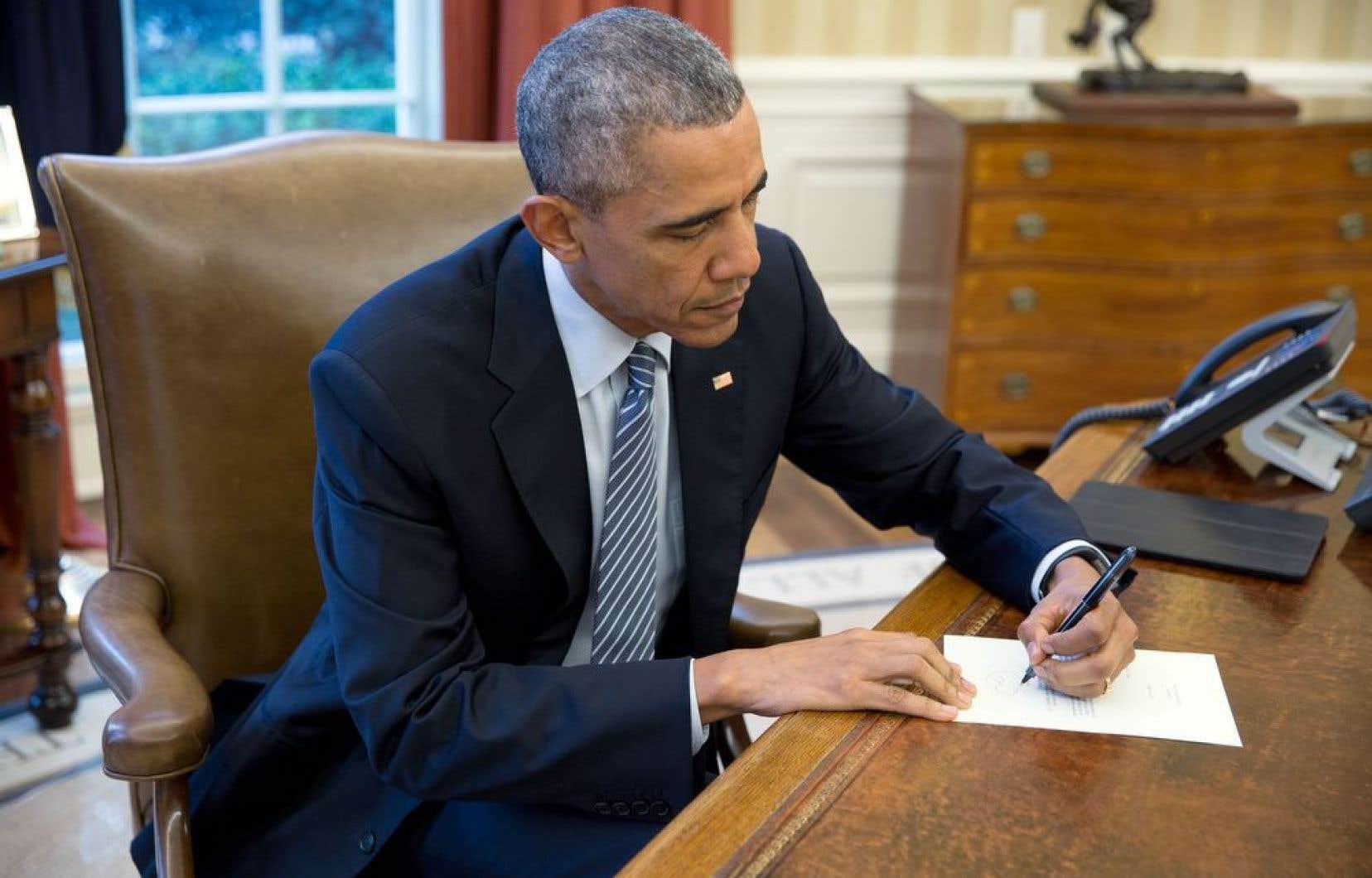 Le président des États-Unis, Barack Obama, a pris la plume pour répondre à Ileana Yarza, Cubaine de 76 ans, qui lui avait fait part de sa volonté de le rencontrer.