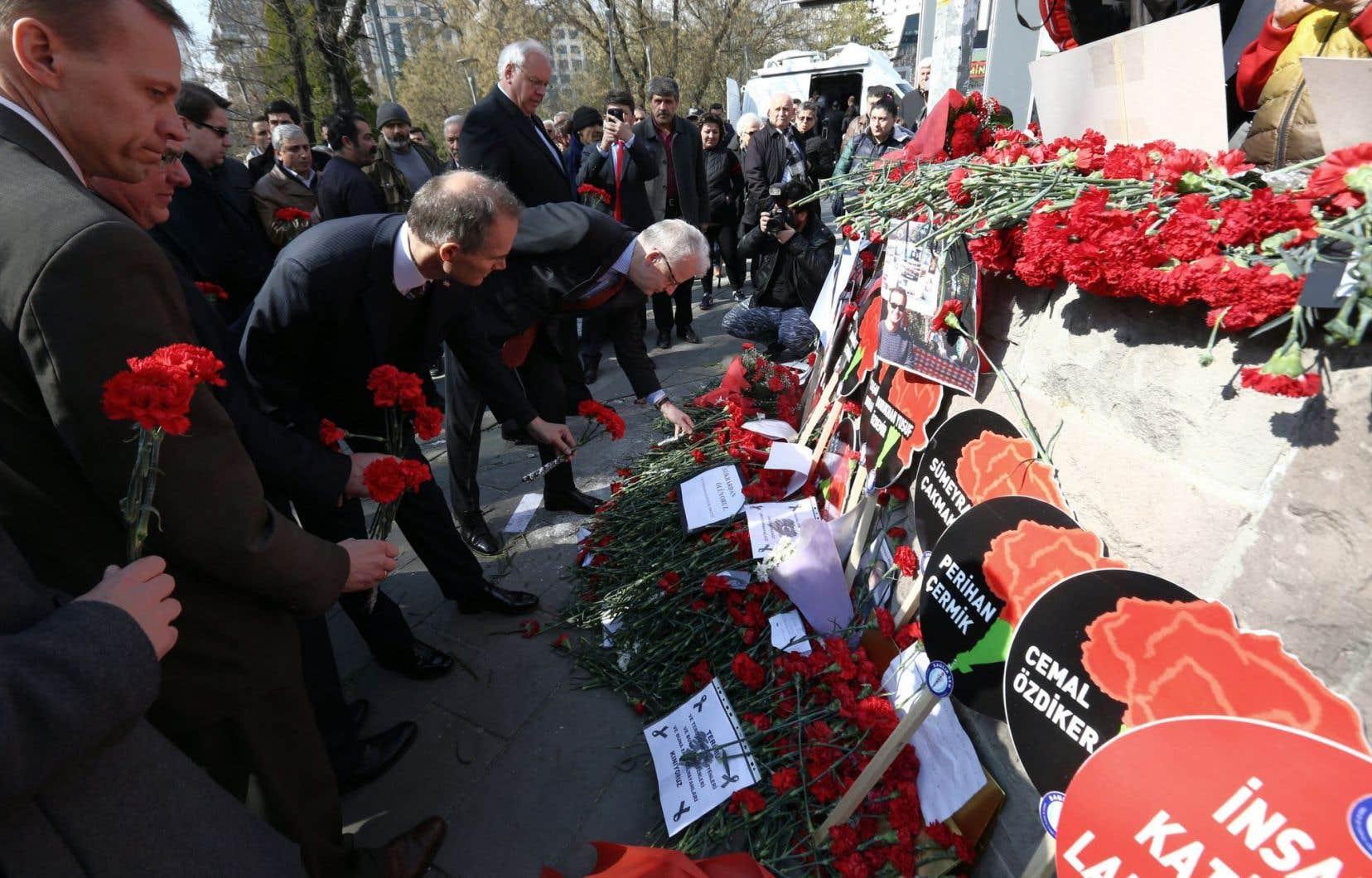 L'attentat du 13 mars dernier à Ankara a fait 37 victimes.