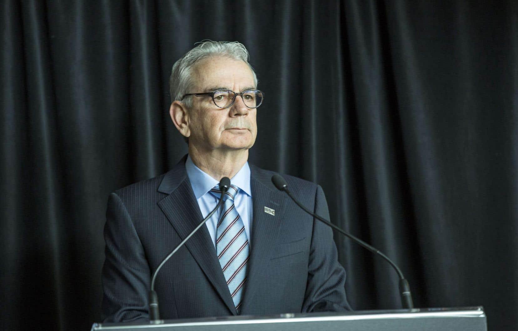 «De graves infractions», a dit en conférence de presse jeudi le commissaire de l'UPAC, Robert Lafrenière, «qui mettent en péril les principes mêmes de la démocratie».