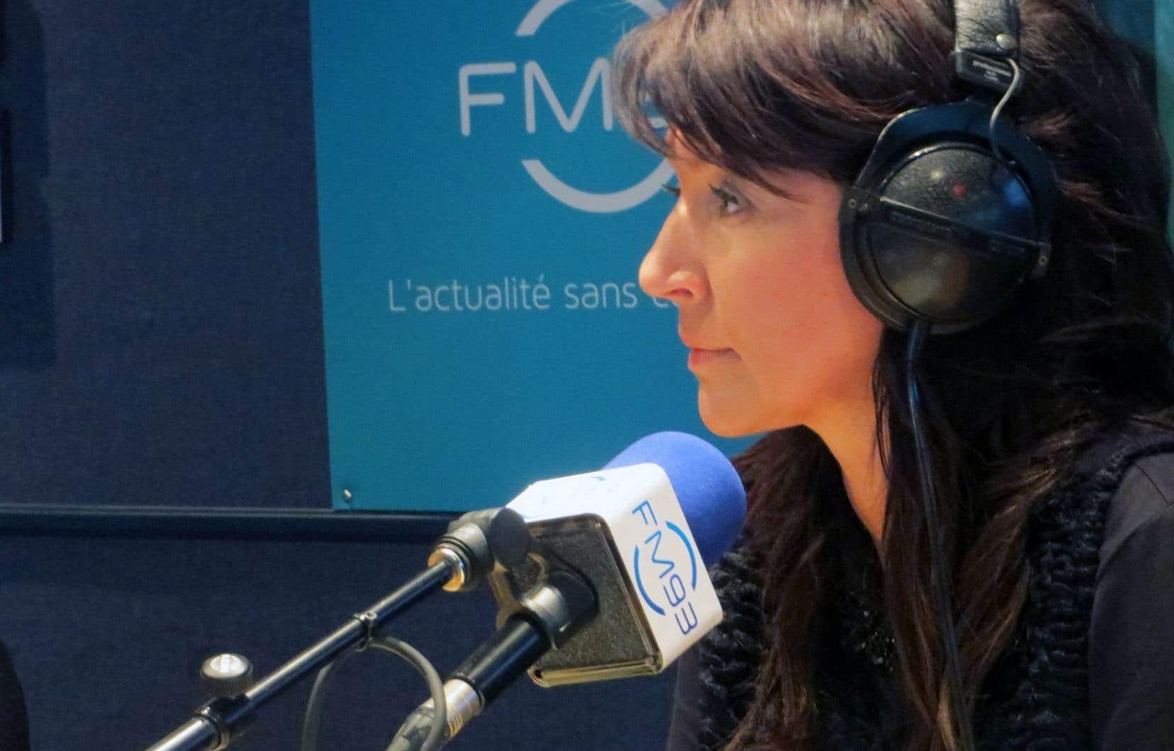 Rapidement, jeudi matin, la station de Québec a modifié le visuel de son émission pour la renommer tout simplement «Duhaime».