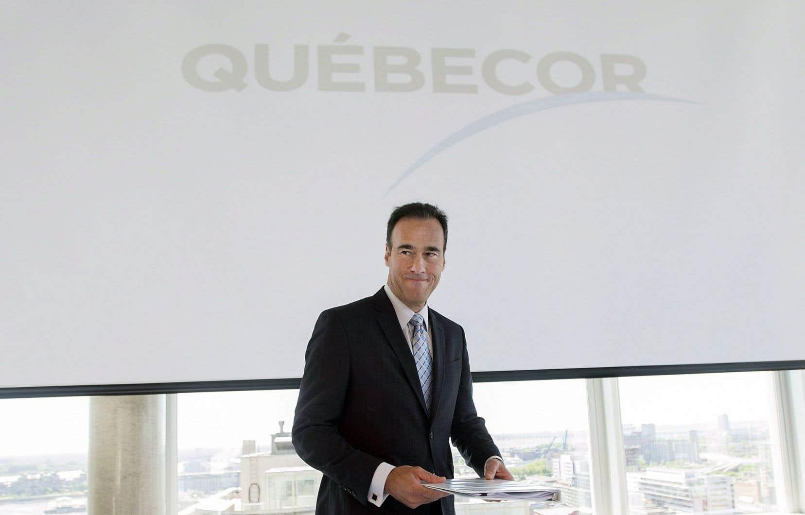 Pierre Dion, président et chef de la direction de Québecor, continue d'espérer le retour des Nordiques à Québec, même si la note pourrait être plus salée que prévu pour son entreprise.