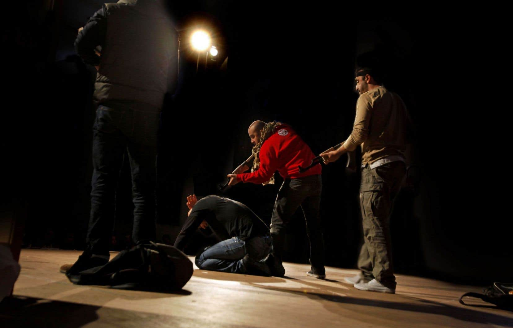 Une scène de la pièce «Djihad»