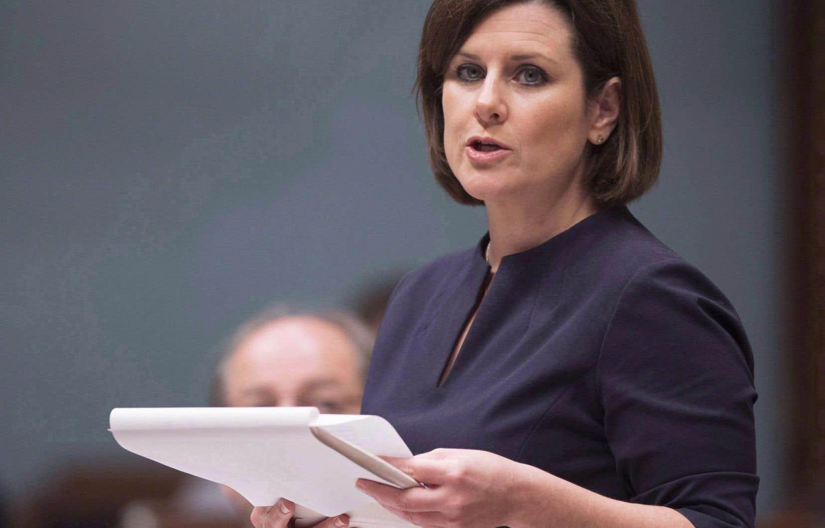 Stéphanie Vallée a affirmé qu'entre 10 et 15 recommandations sont actuellement en vigueur ou en voie de l'être.