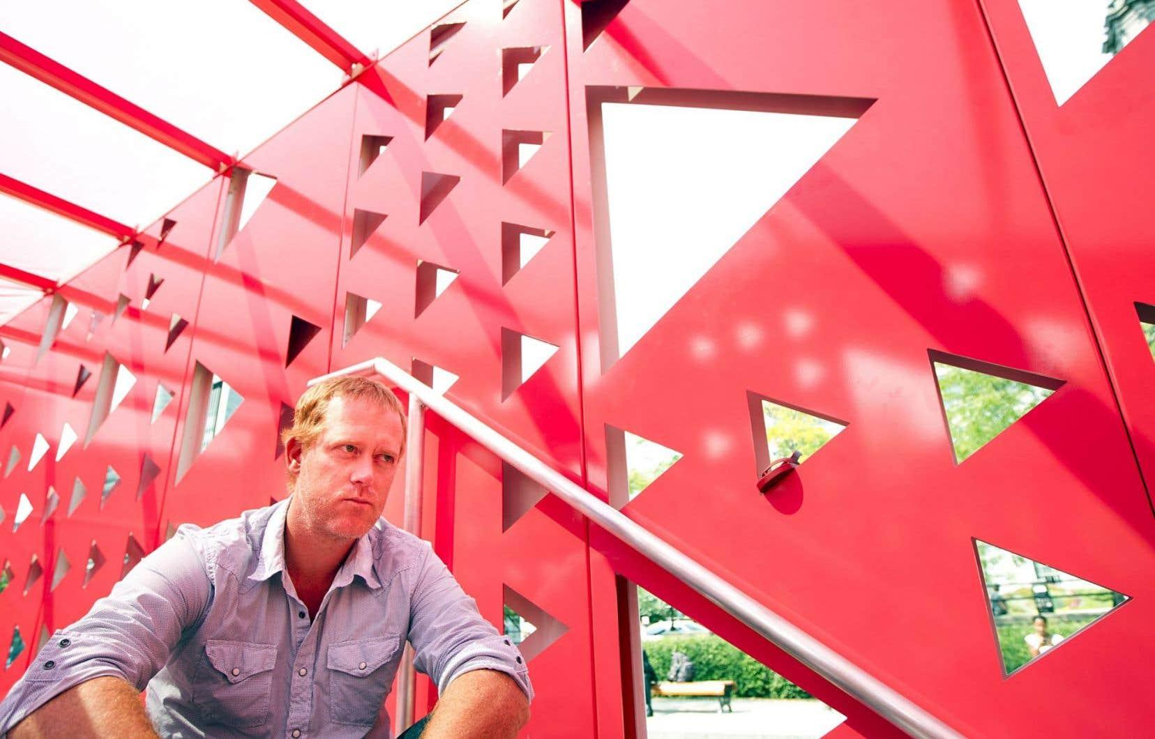 « La Biennale, c'est notre occasion de montrer au reste du monde ce qu'on fait ici», croit Marc Séguin.