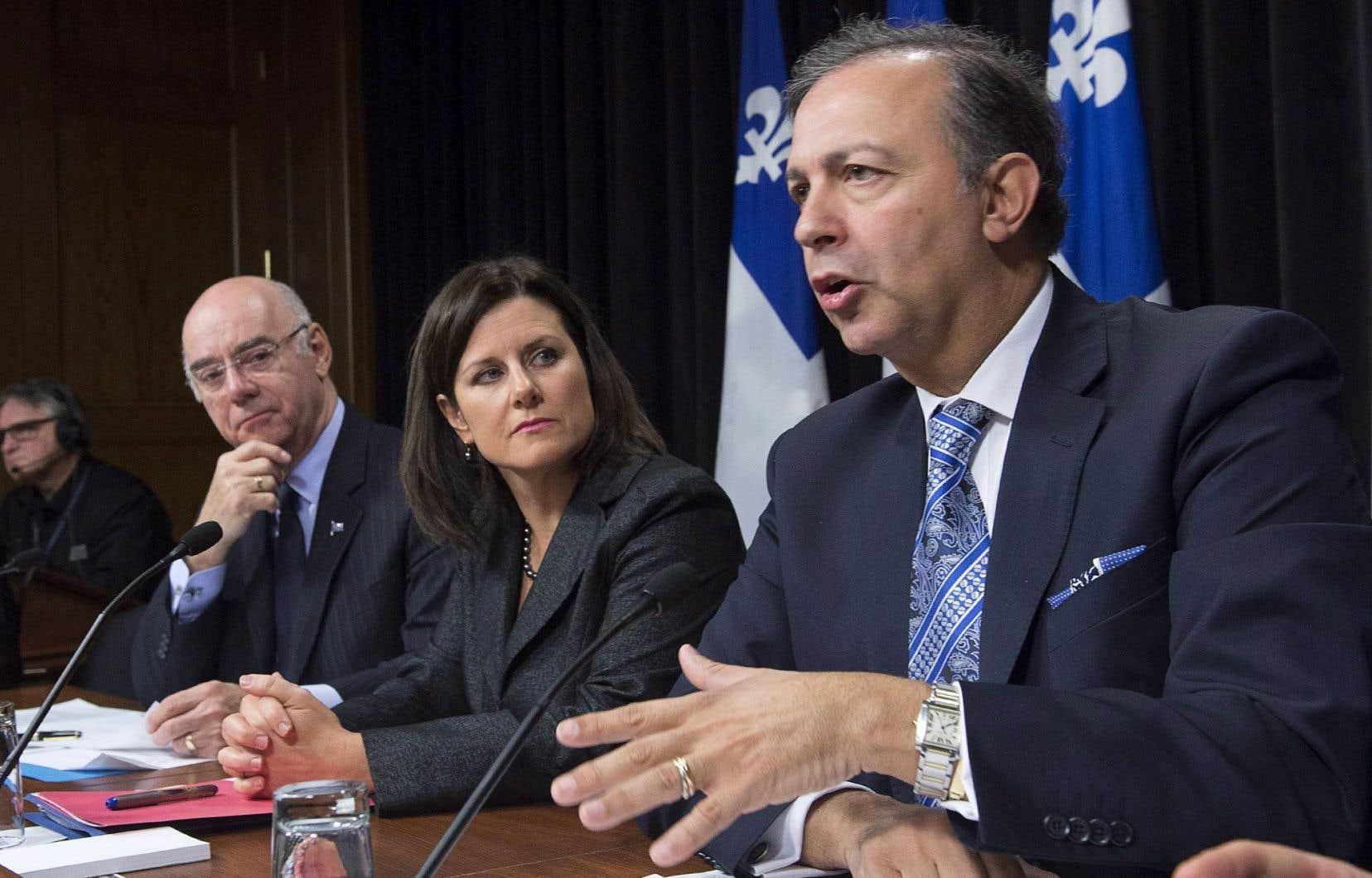 Le gouvernement libéral est sur la sellette depuis l'arrestation de l'ex-vice-première ministre, Nathalie Normandeau.