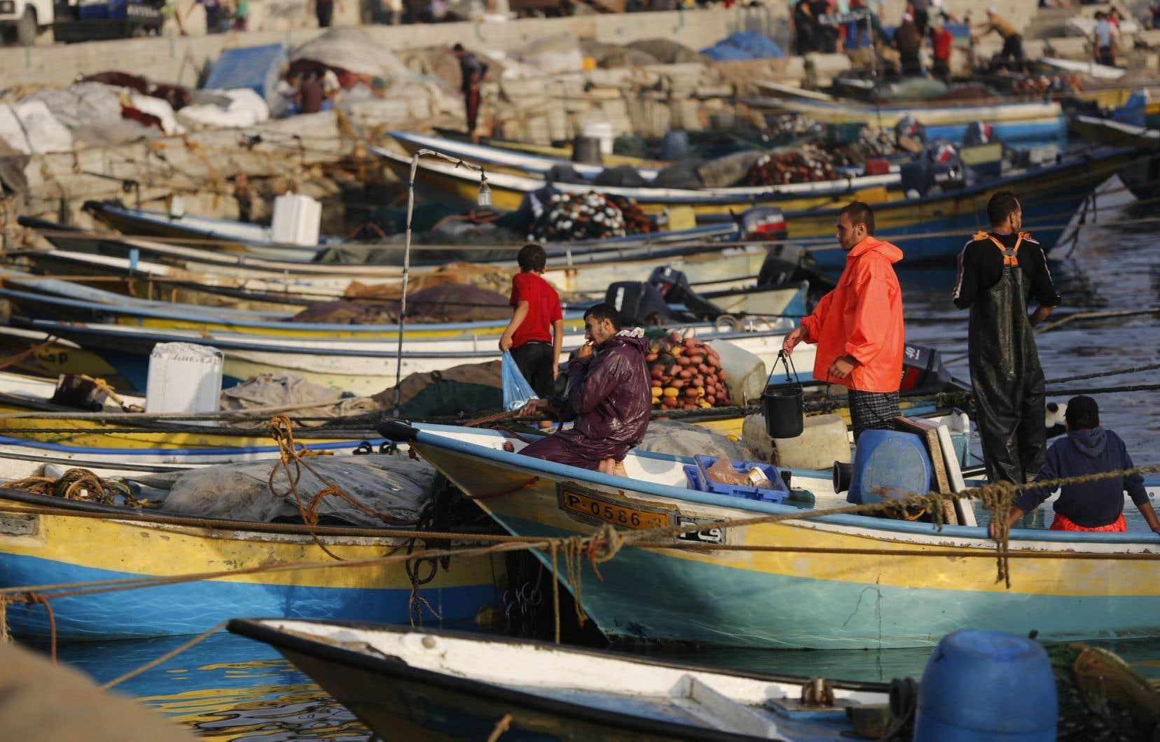 À partir de dimanche, la zone de pêche autorisée en Méditerranée passera de six à neuf milles nautiques, mais seulement au large des côtes méridionales de la bande de Gaza.