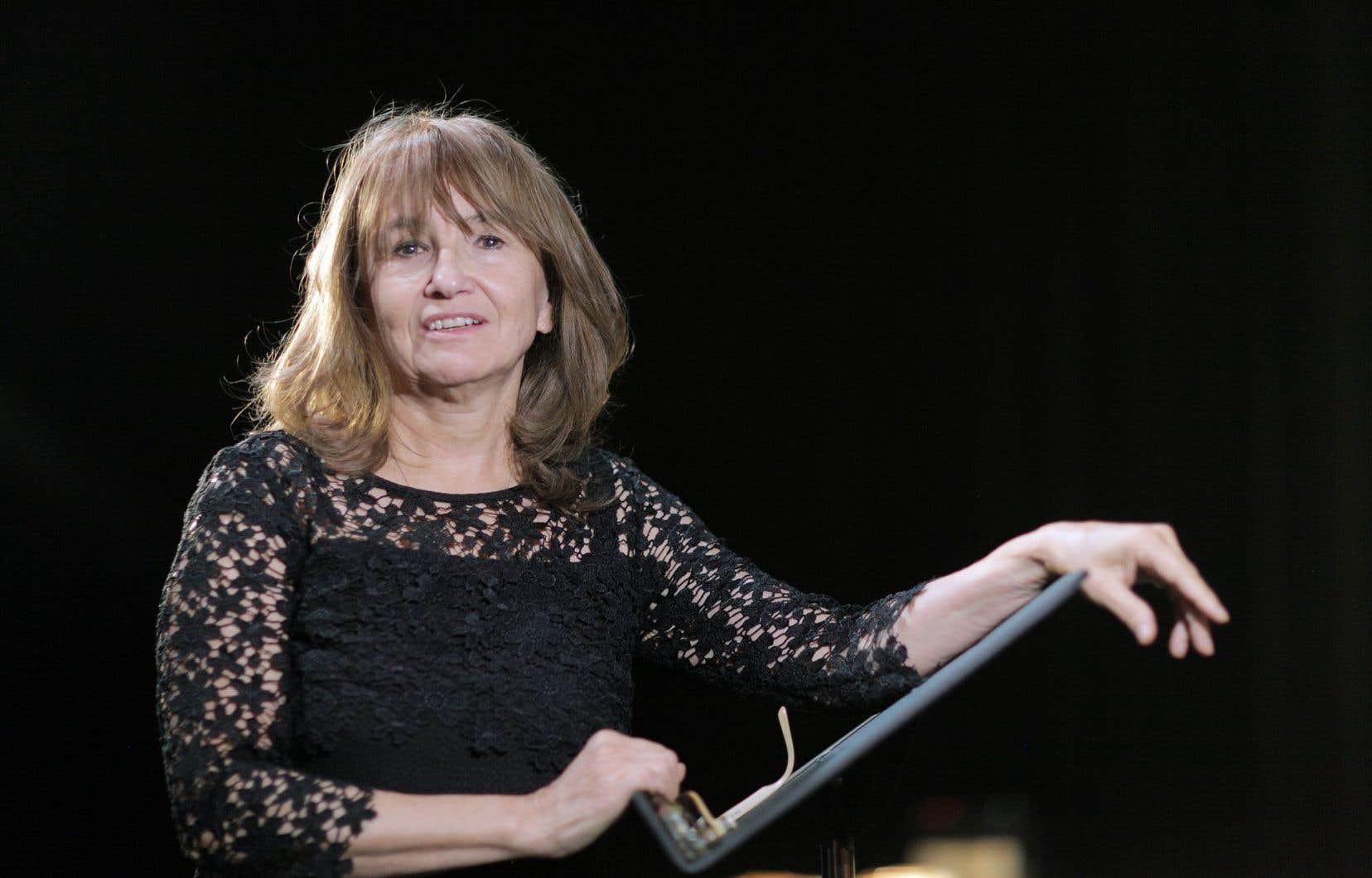 La directrice artistique du Groupe de La Veillée, Carmen Jolin