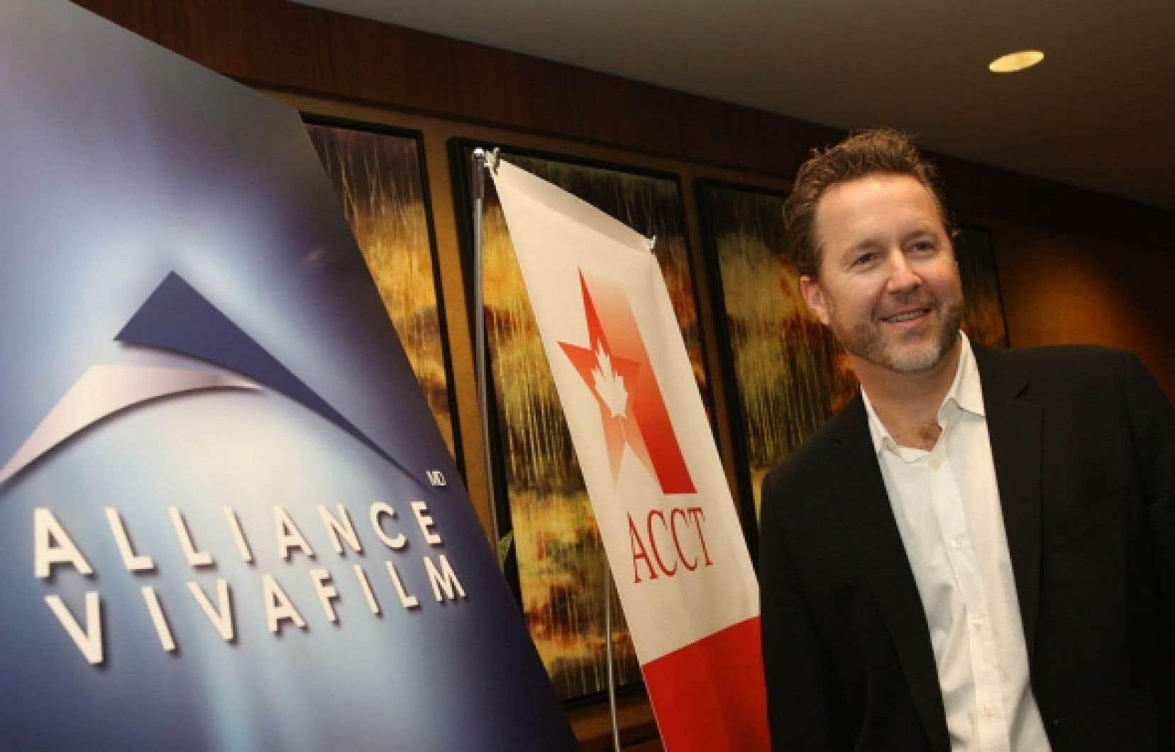 Patrick Roy a annoncé hier deux initiatives de sa boîte, Alliance Vivafilm.
