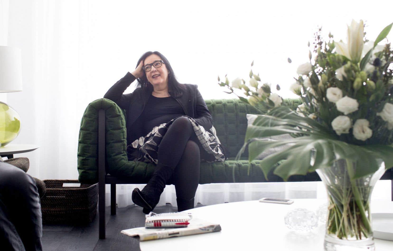 Chantal Pontbriand a été nommée en novembre «première présidente et directrice» du MOCA, le nouveau musée d'art contemporain à Toronto.