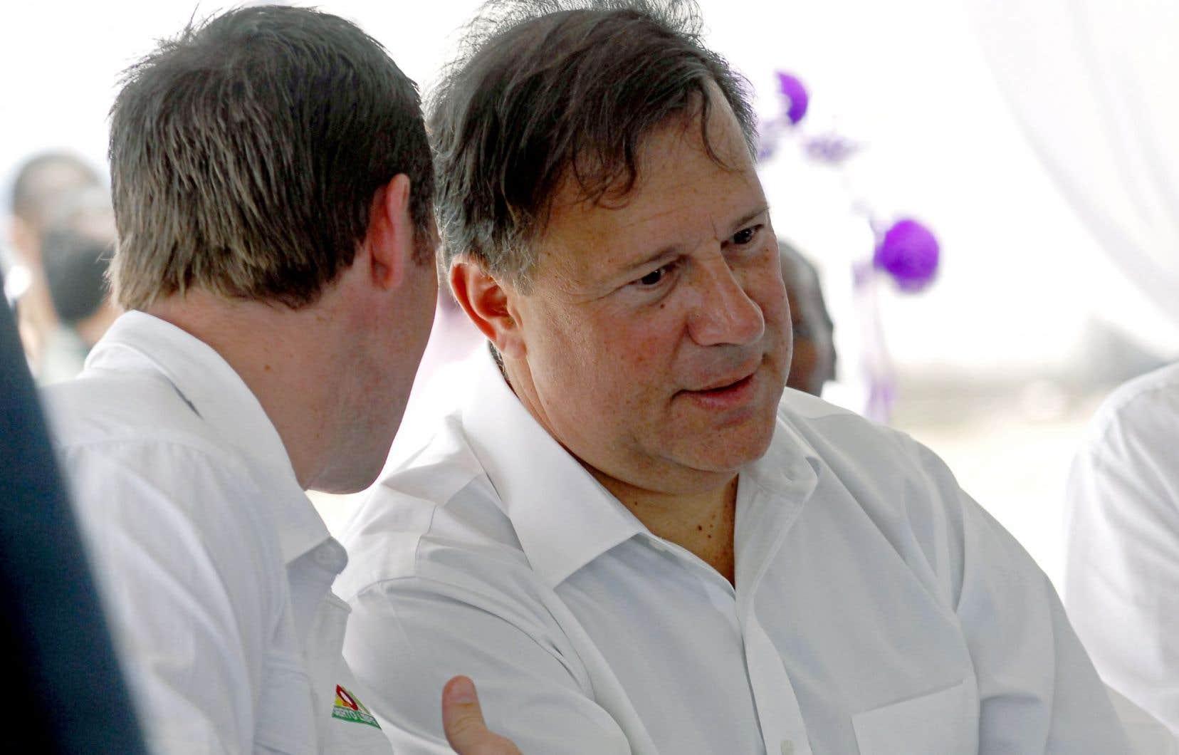 Le président du Panama, Juan Carlos Varela