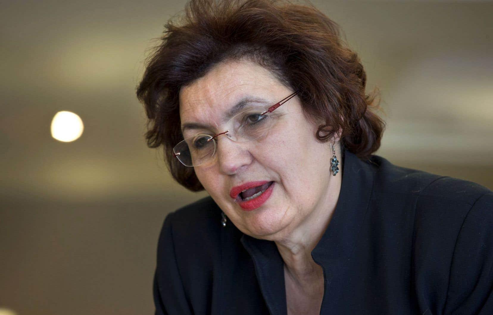 Fatima Houda-Pepin a été la députée du Parti libéral dans La Pinière de 1994 à 2014.