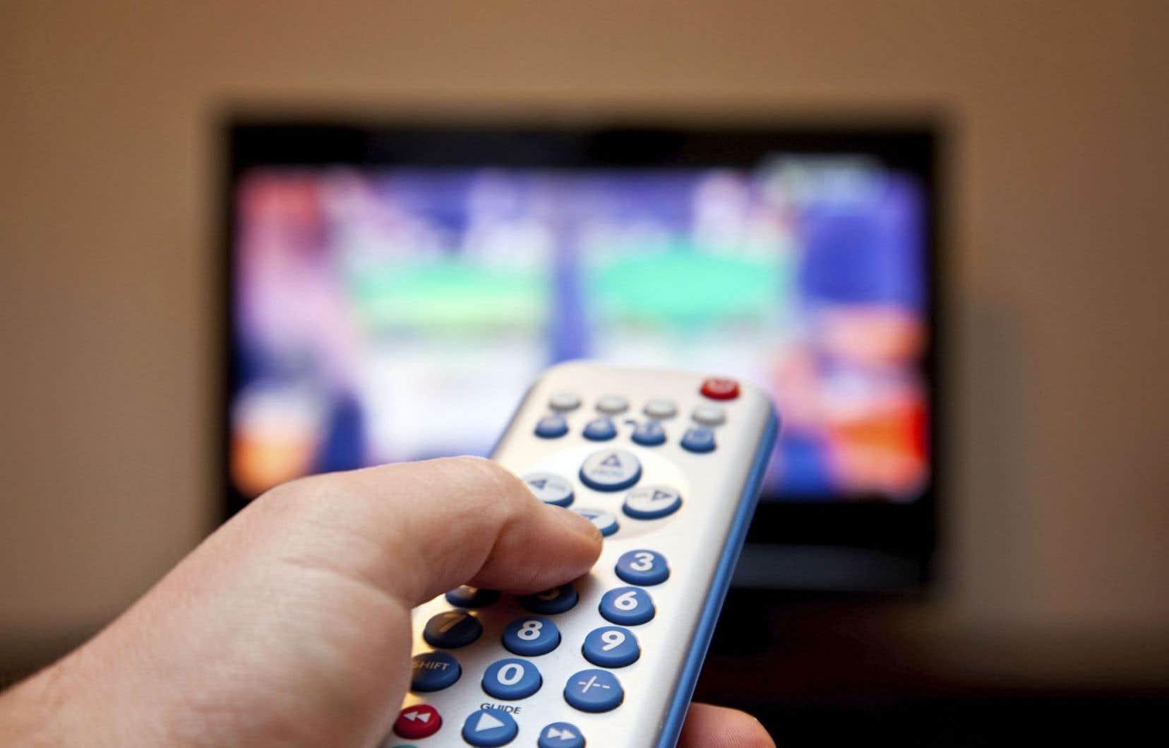 La télé traditionnelle détient maintenant 30% des parts du marché de l'info.