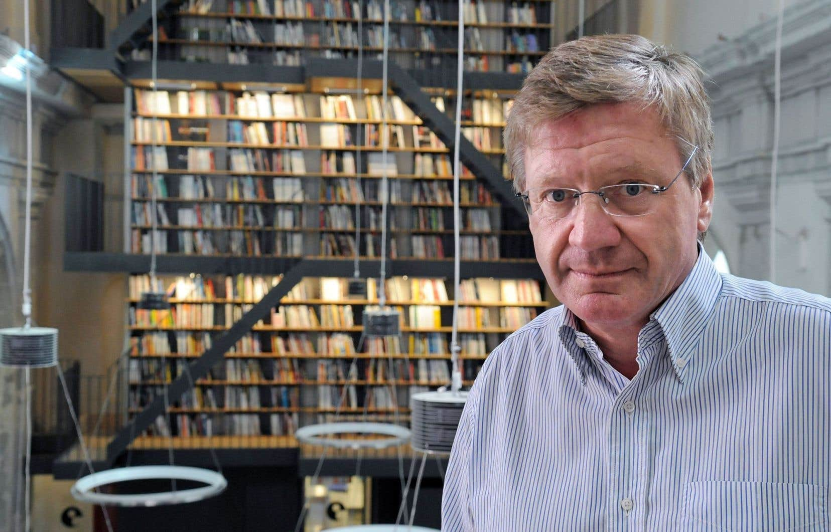 L'éditeur Jacques Glénat en 2009