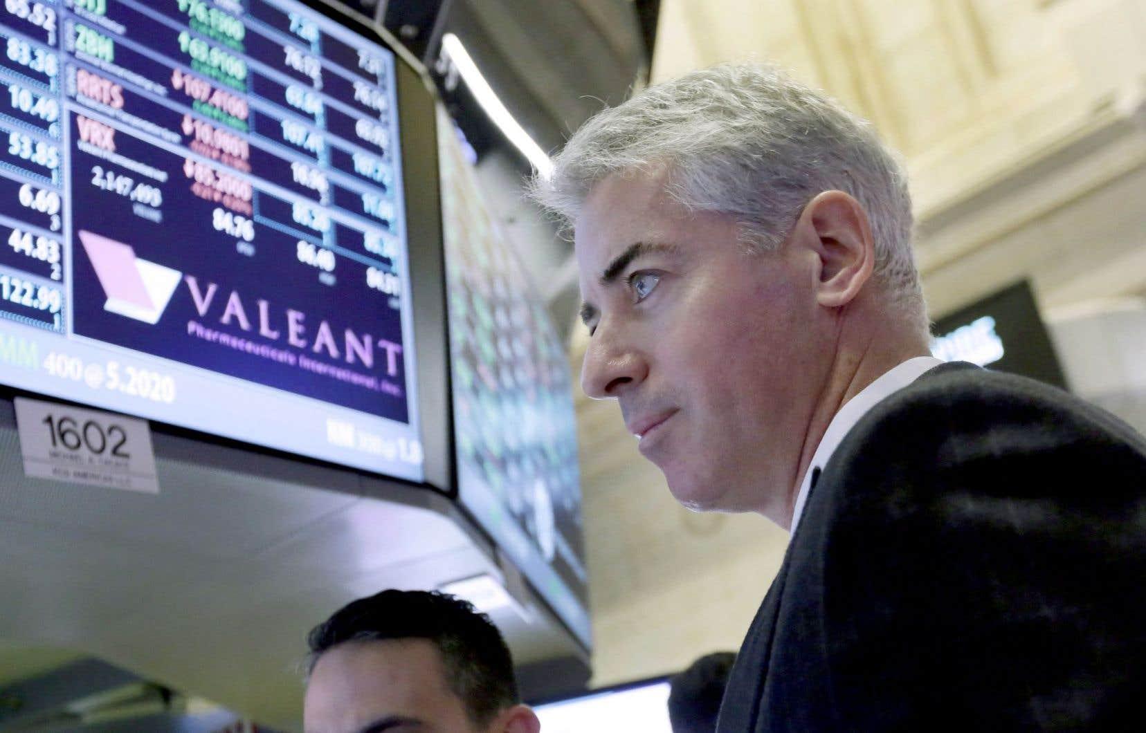 Bill Ackman, actionnaire et membre du conseil d'administration de Valeant