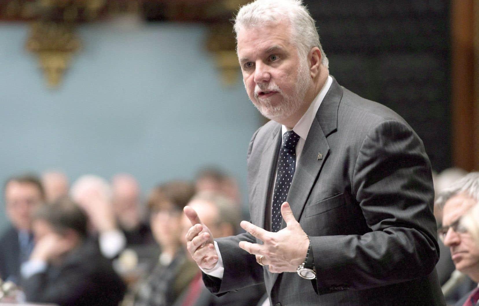 Philippe Couillard a reconnu en Chambre mercredi le manque de prudence de celui qui a présidé sa campagne à la chefferie du PLQ.